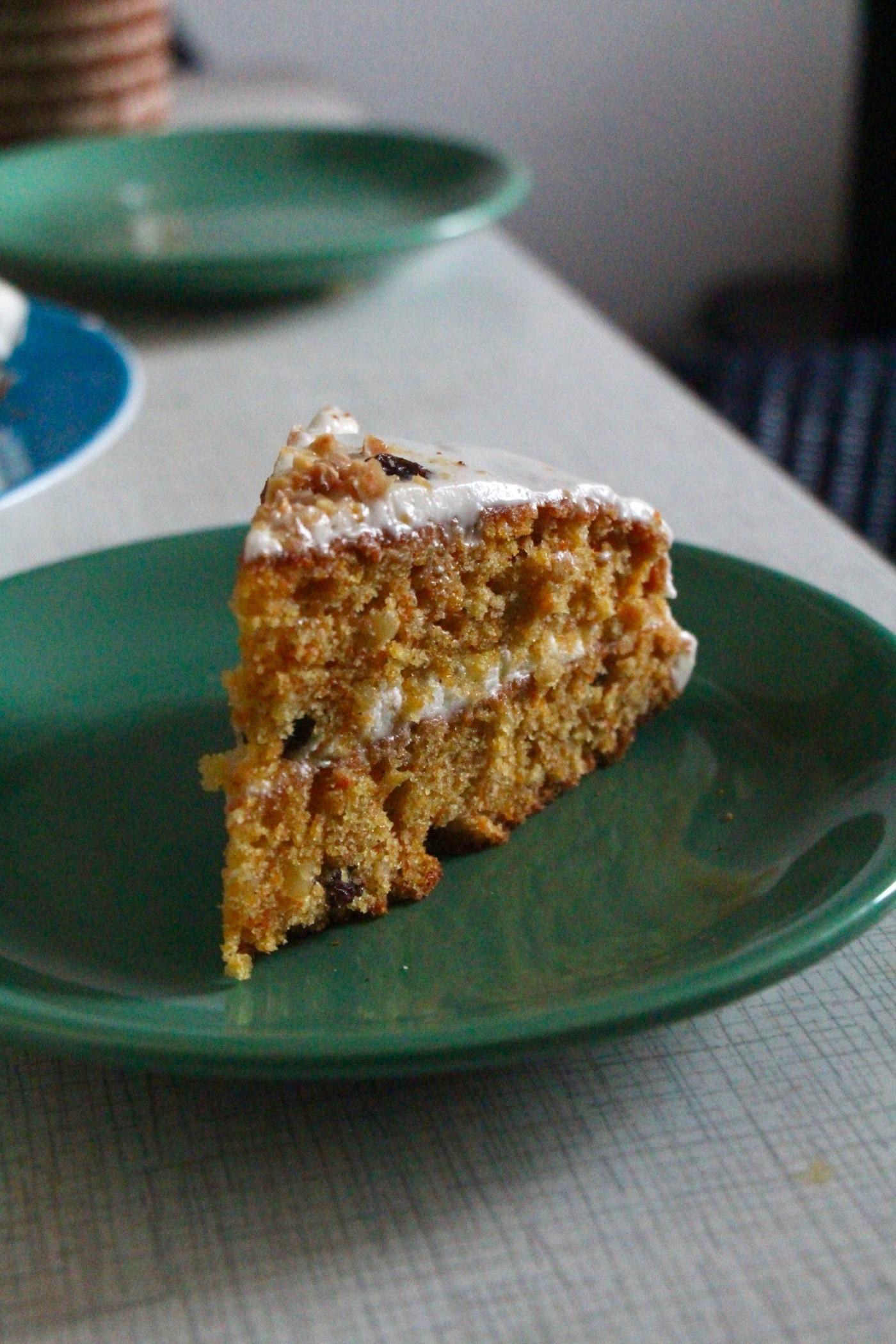 Saftiger Karottenkuchen Rublikuchen Cinnamon And Curcuma